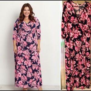Pinkblush Maternity Dress! Size 2x! Like new!